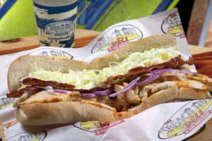 The Sunburn Sandwich