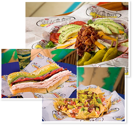 Beach Hut Deli food photos - we don't just make salads and sandwiches, we build them!